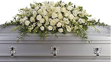 Picture of Purity and Peace Casket Spray