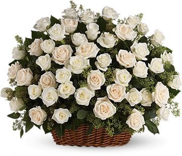 Picture of Bountiful Rose Basket