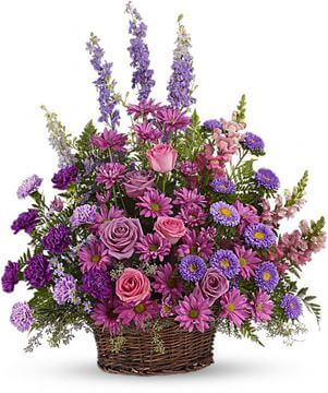 Picture of Gracious Lavender Basket