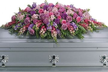 Picture of Lavender Tribute Casket Spray