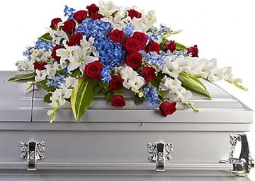Picture of Distinguished Service Casket Spray