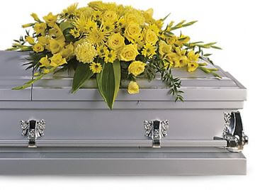 Picture of Graceful Grandeur Casket Spray