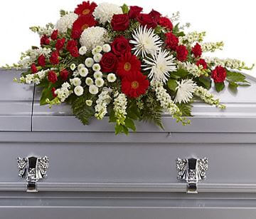 Picture of Strength and Wisdom Casket Spray