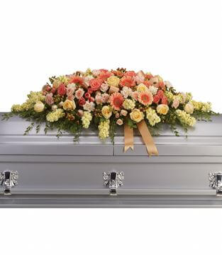 Picture of Warmest Remembrance Casket Spray