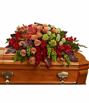 Picture of A Fond Farewell Casket Spray