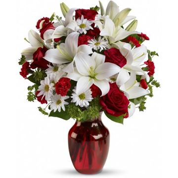Picture of Be My Love Bouquet with Red Roses