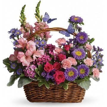 Picture of Country Basket Blooms