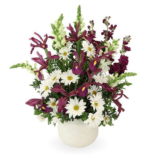 Mountain Meadow Pedestal Arrangement