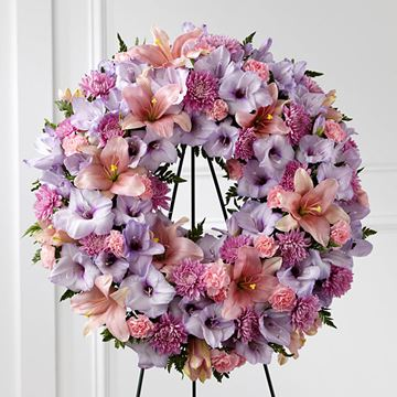 Picture of Sleep In Peace Wreath