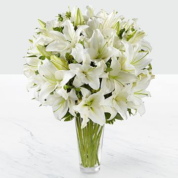 Picture of The Spirited Grace Lily Bouquet