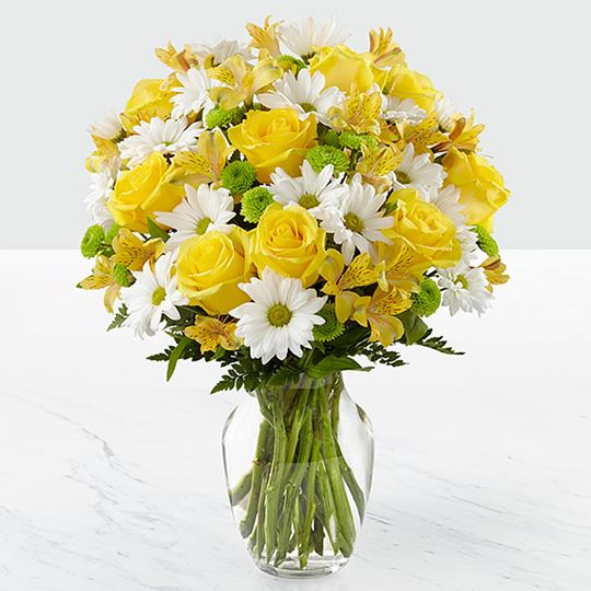 Picture of The Sunny Sentiments Bouquet